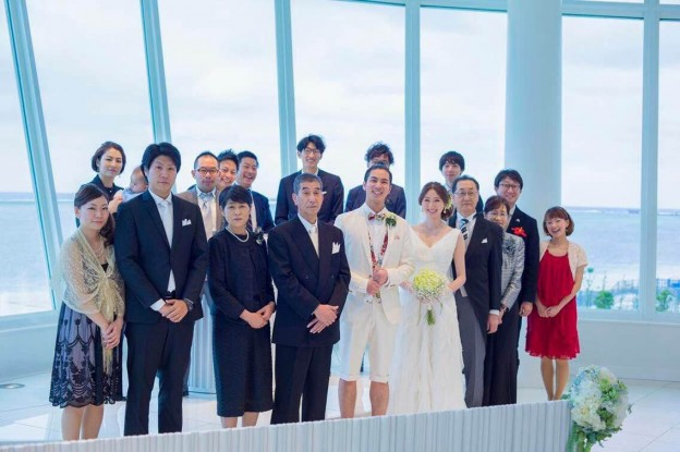 グランマニエのウエディングドレス|沖縄挙式|リゾート挙式