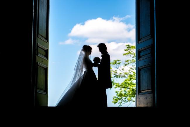 グランマニエのウエディングドレス|ロケフォト
