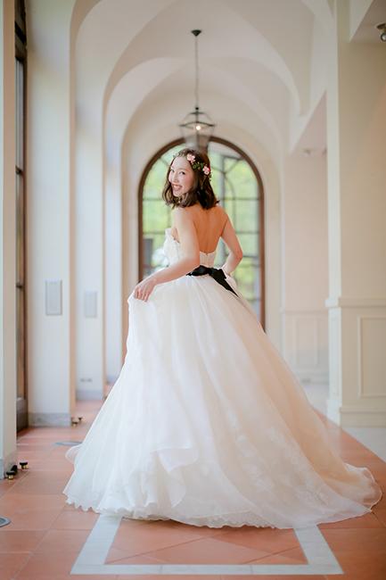 グランマニエ|ウエディングドレス|花冠