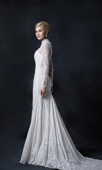 バランス|グランマニエのウエディングドレス|マーメイド|ボレロ
