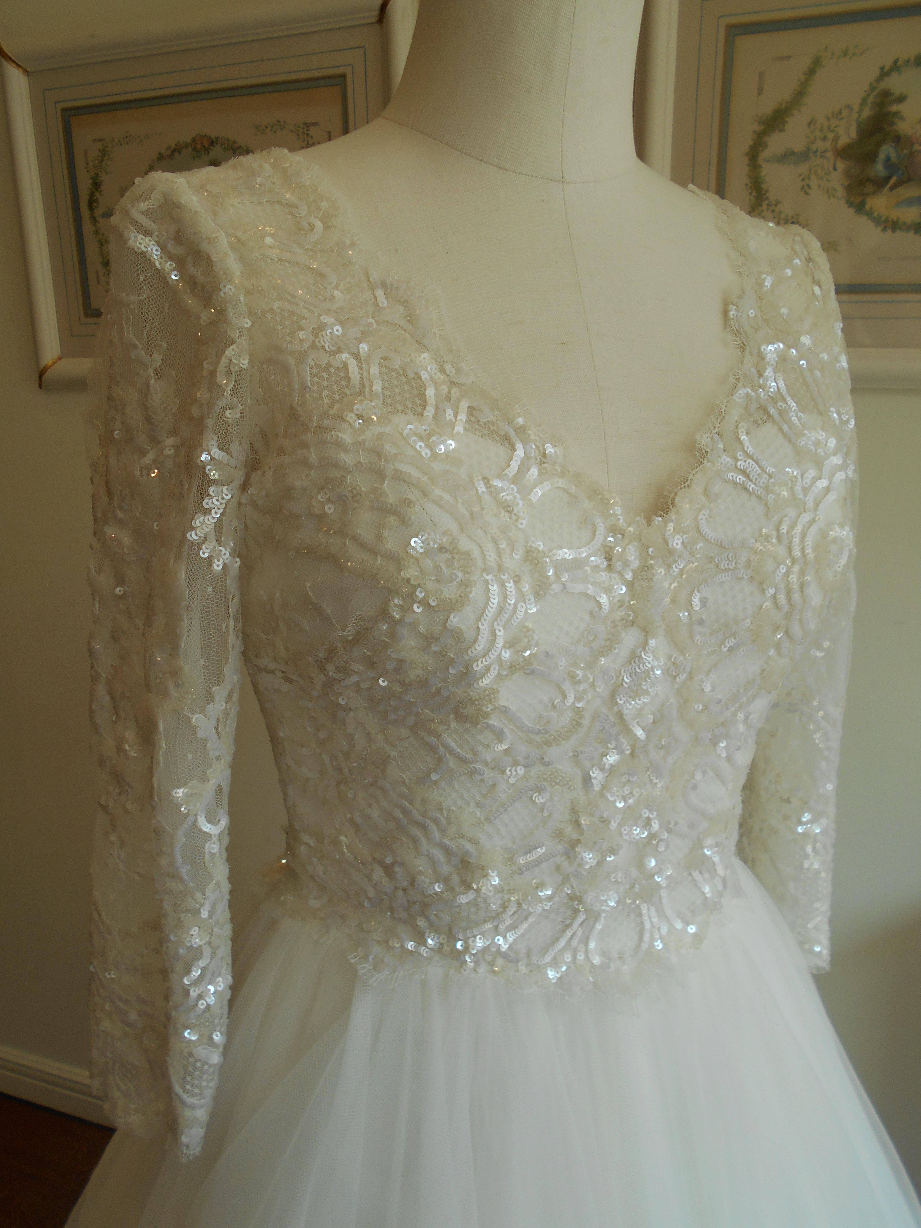 新作ウエディングドレス|長袖ドレス|ロングスリーブドレス