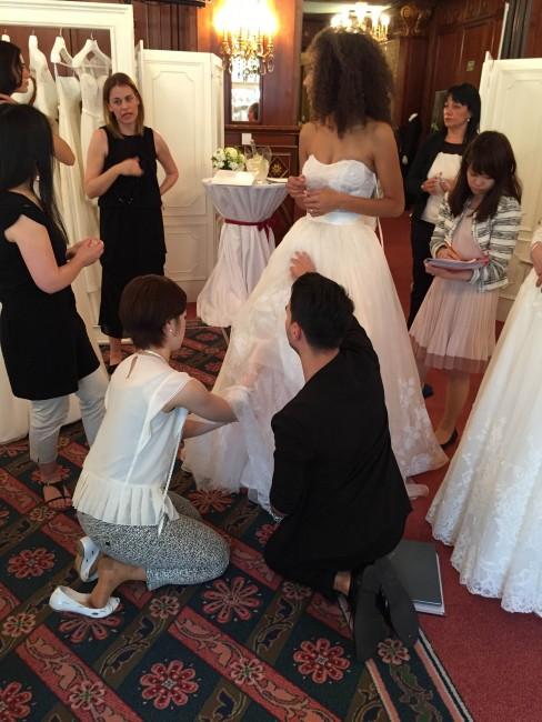 グランマニエのウエディングドレス|買い付け