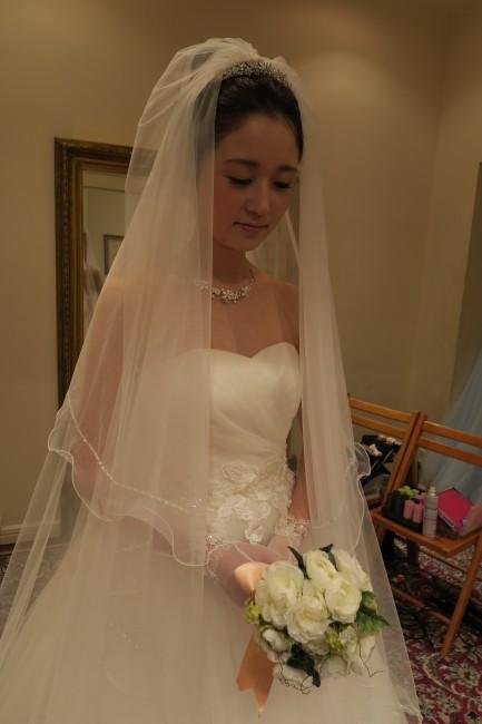 グランマニエのウエディングドレス|ブリジッタ|ヘアメイクリハーサル