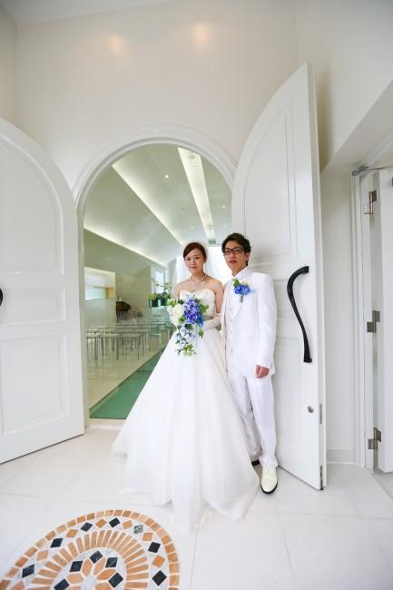沖縄挙式|リゾート婚|グランマニエのウエディングドレス