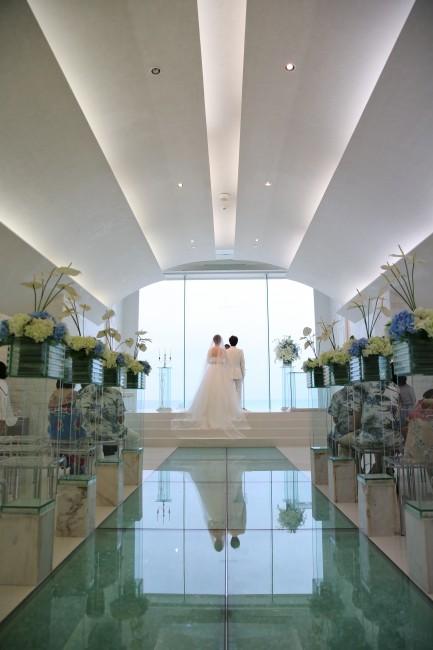 バージンロード|沖縄挙式|リゾート婚
