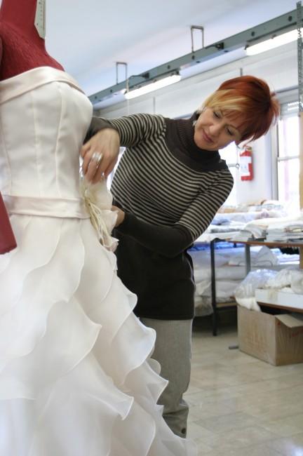 グランマニエウエディングドレス|コサージュ|オートクチュール