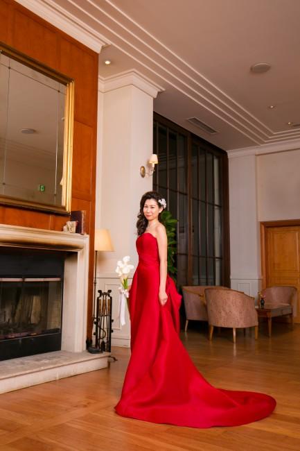 グランマニエのカラードレス|ガザール|スレンダーのドレス