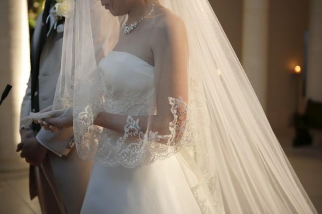 グランマニエのウエディングドレス|ベール