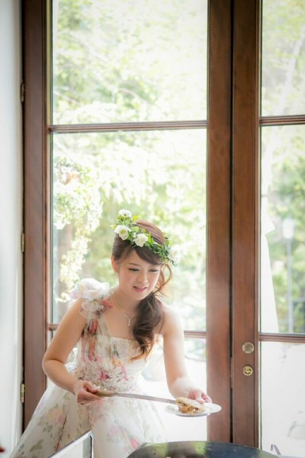 グランマニエのカラードレス|花冠