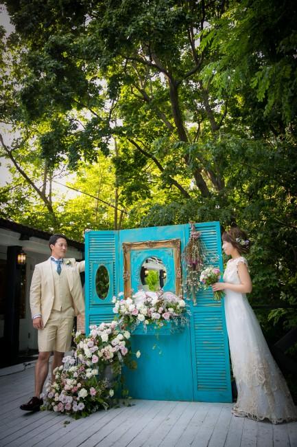 グランマニエのウエディングドレス|ガーデンウエディング|ナチュラルウエディング