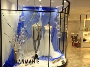 【シルヴィー】美しいマーメイドラインのウエディングドレスを展示