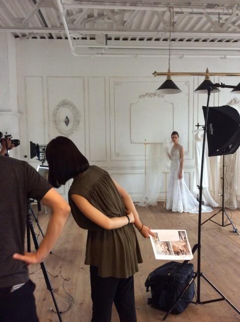 グランマニエ新作ドレス|撮影|グランマニエのウエディングドレス