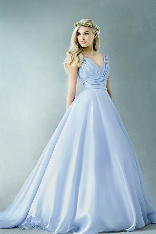 インペリアル|グランマニエのカラードレス|シルクのドレス