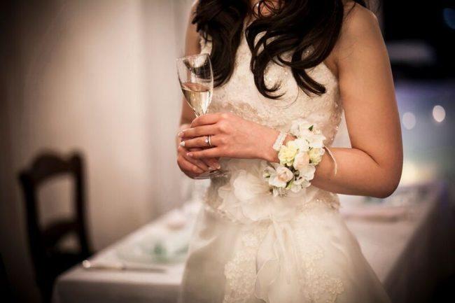 グランマニエのウエディングドレス|ブーケ|リストブーケ