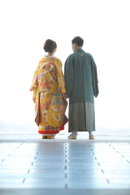 色打掛|紋服|和装|和婚