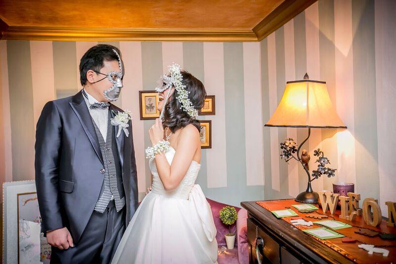 カスミ草|花冠|グランマニエのウエディングドレス