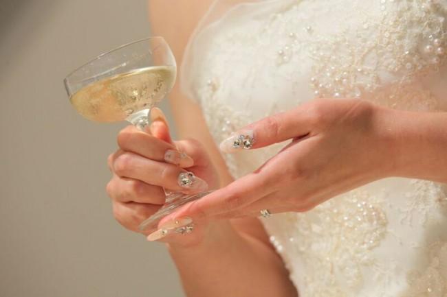 グランマニエのウエディングドレス|ブライダルネイル