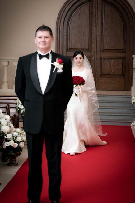 グランマニエのウエディングドレス|新郎新婦|ファーストルック