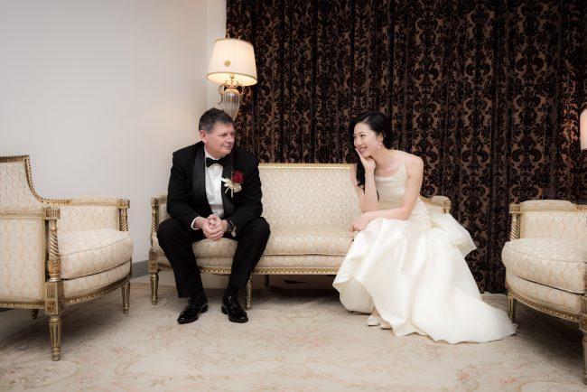 グランマニエのウエディングドレス|新郎新婦|ピエトラセレーナ|マーメイドのドレス