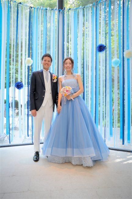 マリリンモンロー|グランマニエのカラードレス|ブルー
