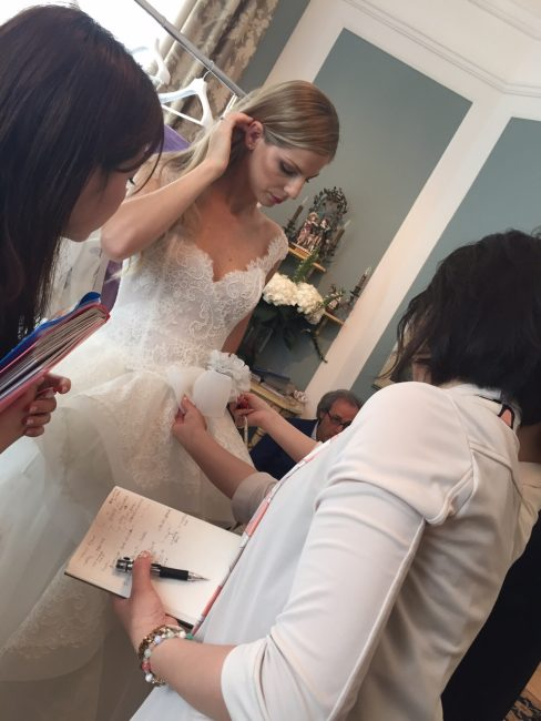 グランマニエのウエディングドレス|オーダードレス|グランマニエのスタッフ
