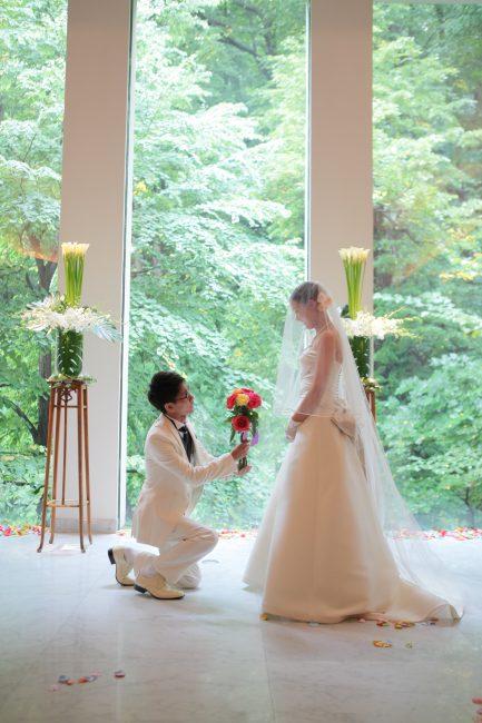 結婚式|プロポーズ|グランマニエのウエディングドレス