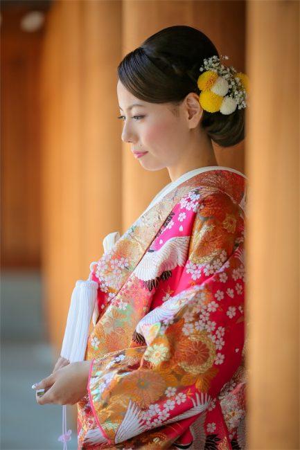 和装|グランマニエの花嫁