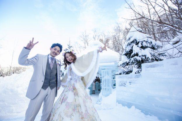 冬のドレス|グランマニエのウエディングドレス
