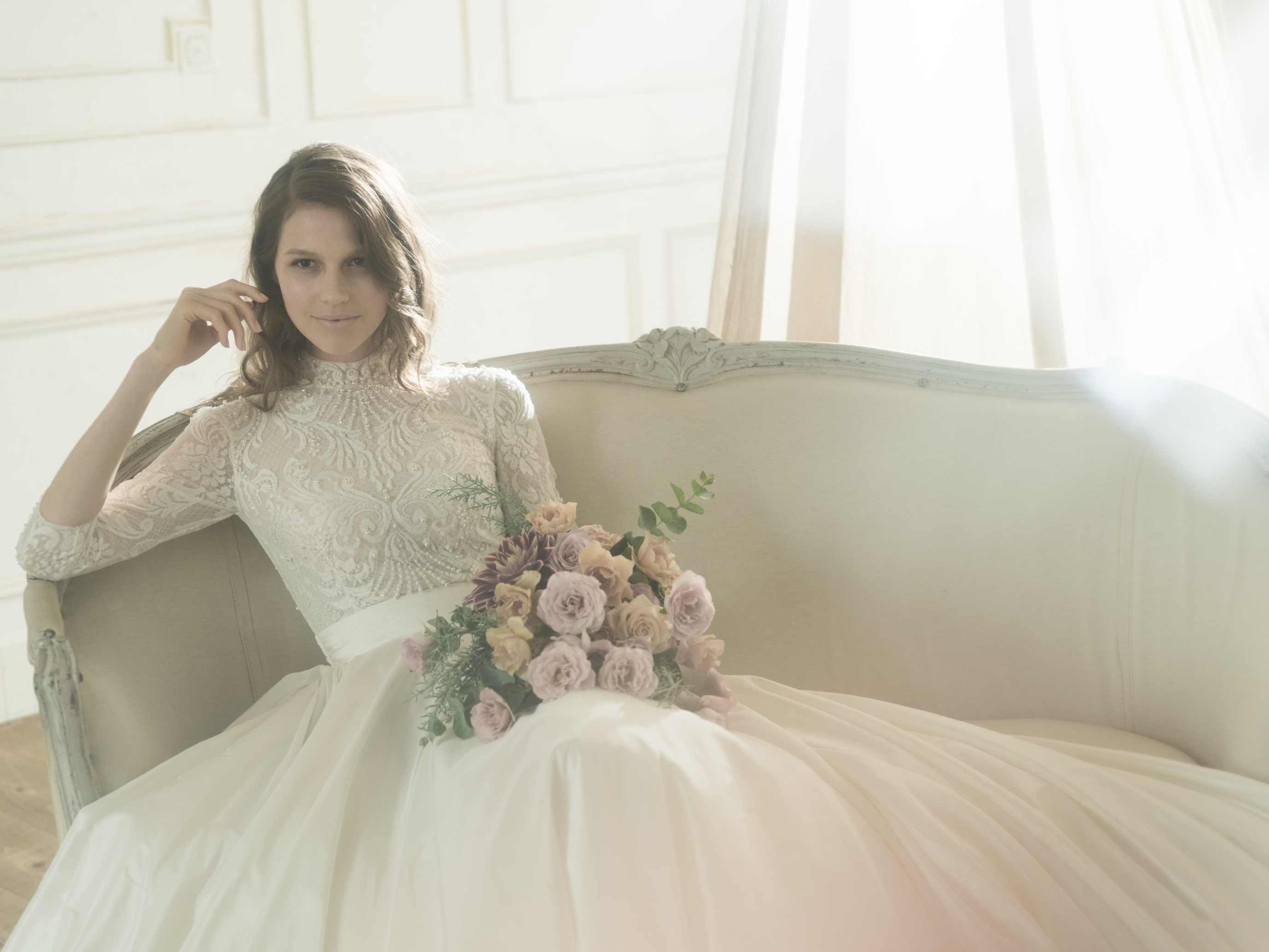 グランマニエのウエディングドレス|長袖のドレス|グランマニエの新作ドレス