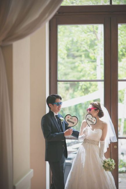 グランマニエのウエディングドレス サッシュベルト フォトプロップス