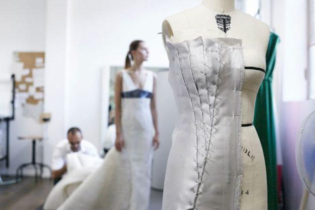 グランマニエのウエディングドレス ハンドメイド オートクチュール