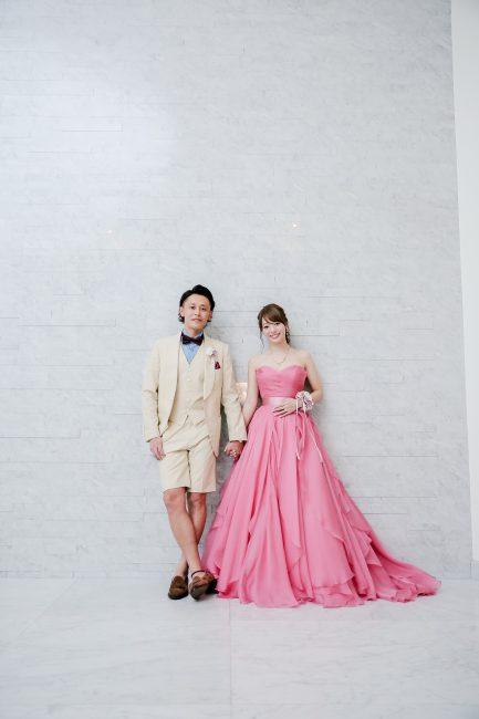 ローレルピンク|グランマニエのカラードレス