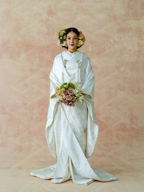 桜花|グランマニエの和装|白無垢