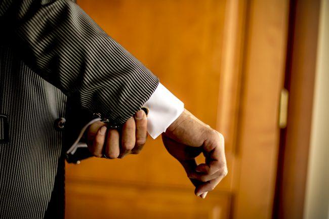 結婚式|グランマニエ|カフスボタン