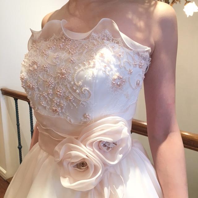 グランマニエの新作ドレス|グランマニエのカラードレス|ピンクのドレス