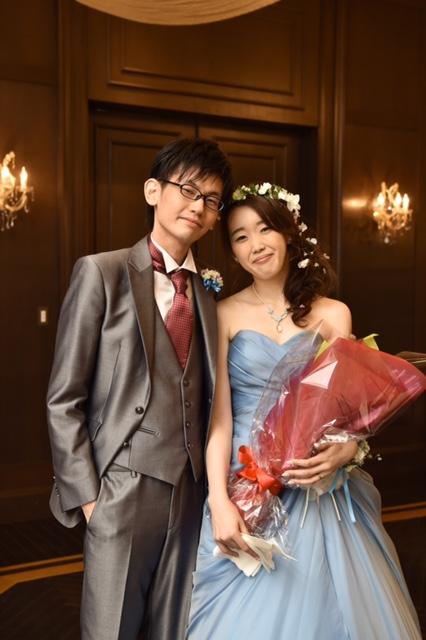 グランマニエのカラードレス メリルストリープ ブルーのドレス