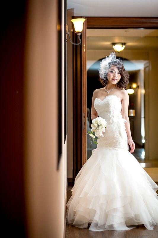 グランマニエのウエディングドレス|マーメイドのドレス