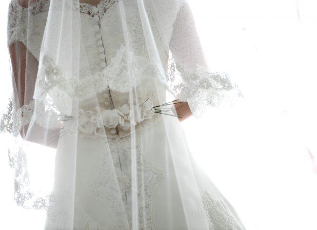 グランマニエのウエディングドレス|シルク素材