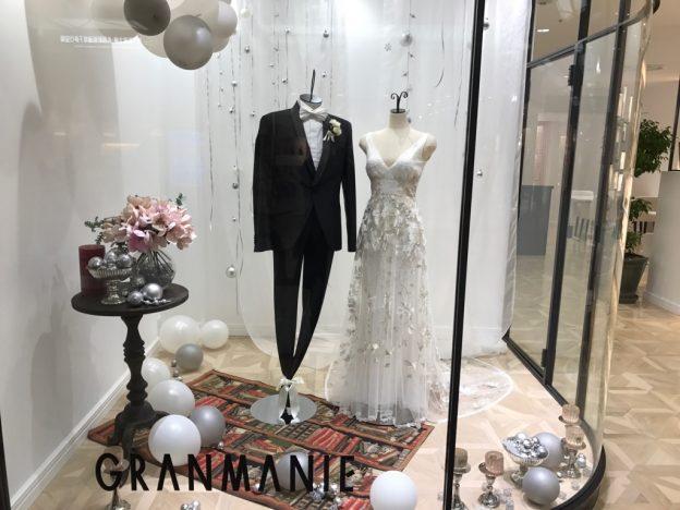レイバン グランマニエのウエディングドレス