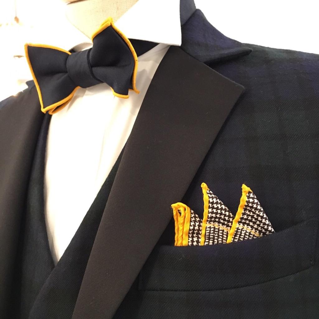 グランマニエのタキシード|メンズ|ポケットチーフ