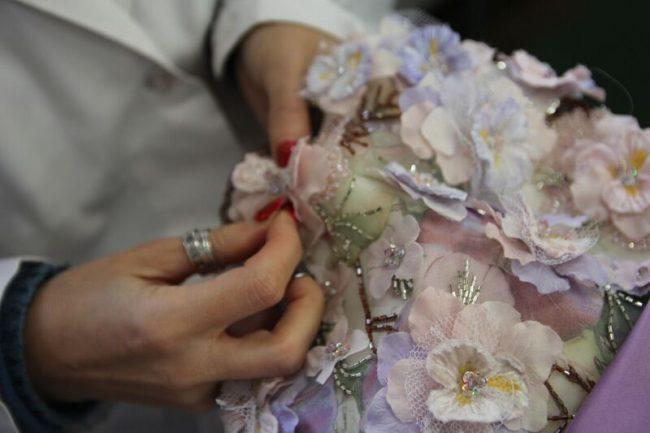 グランマニエのカラードレス|オートクチュール