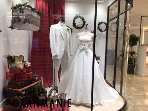【カッシディ】ディズニープリンセスのようなロマンティックドレスを展示