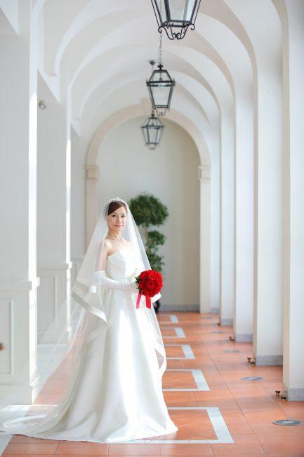 ミカドシルク|グランマニエのウエディングドレス