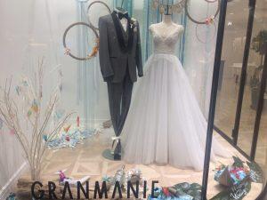 【シェリラ】ジュエリーの輝き放つチュールドレス・エレガント&ロマンティックな一着を展示
