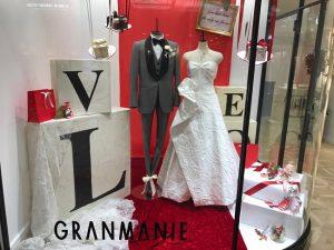【フローラ】エレガントでおしゃれな大人花嫁に人気の素材「ジャカード織り」ドレスを展示