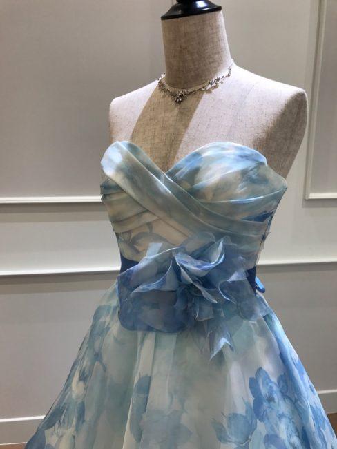 POEM ポエムブルー グランマニエのカラードレス