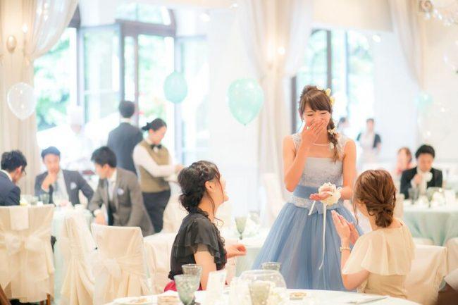 リストブーケ|グランマニエの花嫁
