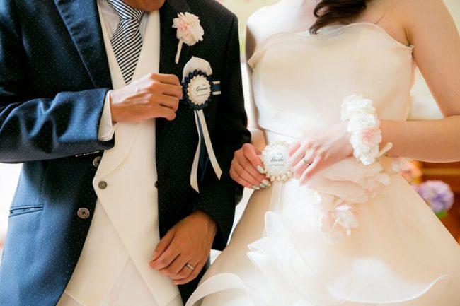 リストブーケ|グランマニエのウエディングドレス