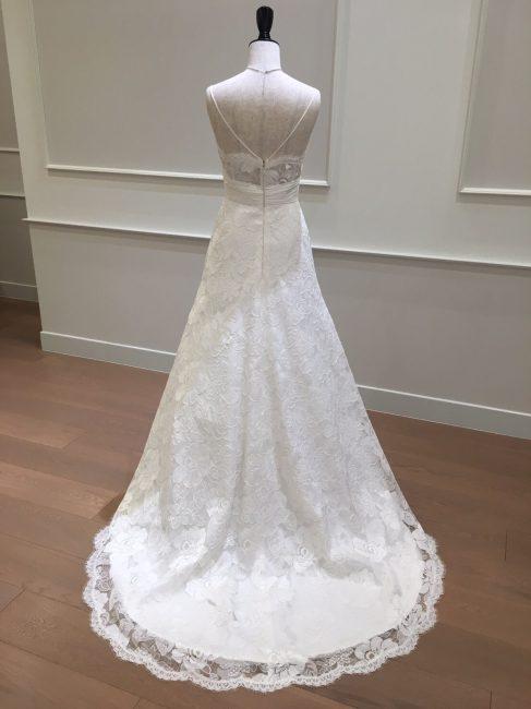 ブレイン|可憐|華奢なウエディングドレス|グランマニエのウエディングドレス