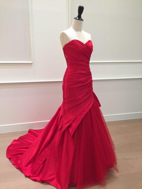 アレクサ|グランマニエのカラードレス|赤